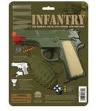 Cap Gun w/Grenade WWII Infantry Set by Parris Manufacturing (/245)