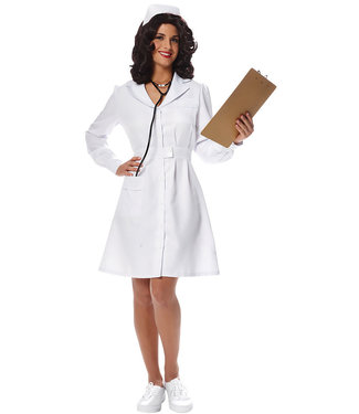 Vintage Nurse Adult Large 12-14 by Costume Culture By Franco LLC
