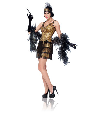 Broadway Flapper Adult Small by Costume Culture By Franco LLC
