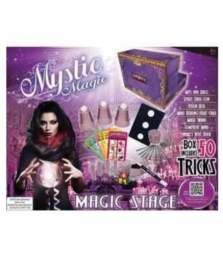 Mystic Magic 50 Tricks Mini Stage Set by Eddys Magic
