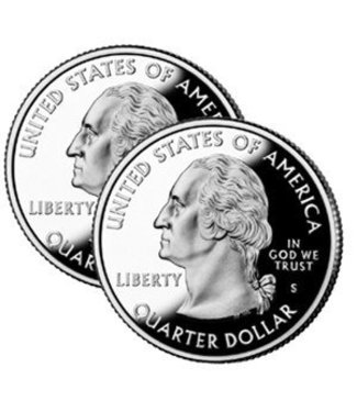 Double Sided Quarter, Tails - Coin (M10)