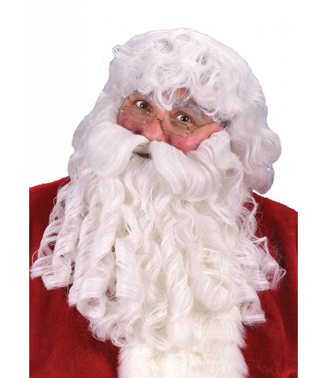 Fun World Economical Santa Wig And Beard Set (/201)