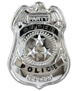 Forum Novelties Police Badge, Plastic by Forum