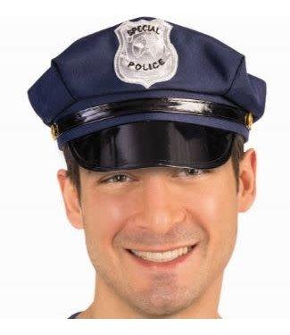 Forum Novelties Policeman Hat, Blue