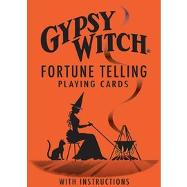 Gypsy Witch Tarot Fortune Telling Playing Cards by U.S. Games