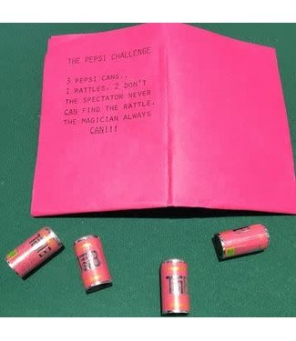 USED Vintage The Pepsi Challange with TAB soda Rattle Bars