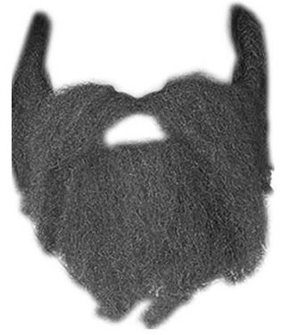 Forum Novelties Beard And Moustache 49er Grey