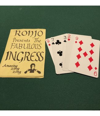 VINTAGE The Fabulous Ingress by Ronjo