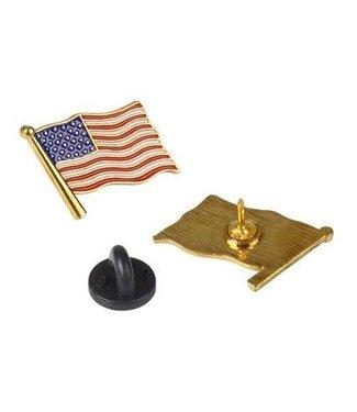 American Flag Pin .75X.50 inch - Each
