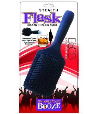 Forum Novelties Hair Brush Flask
