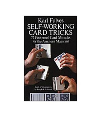 Self Working Card Tricks by Karl Fulves  and Dover Publications and BTC- Book