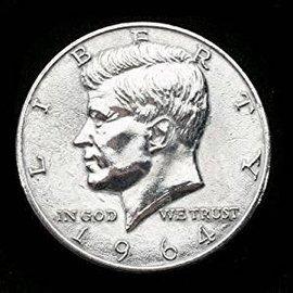 Jumbo Coin, Half Dollar - 3 inch  (M10)