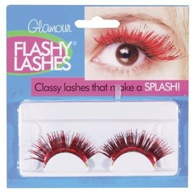 Eyelashes -Red