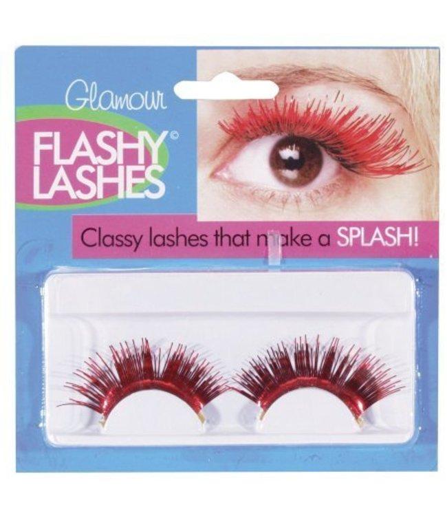 Eyelashes -Red