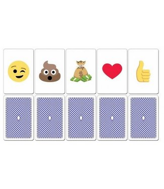 Ronjo Emojination, Poker Sized - Plastic by Ronjo (M12/1038)