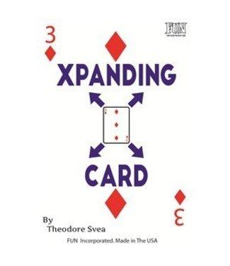 XPanding Card by Theodore Svea by Fun Inc (M10)