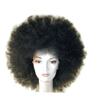 Morris Costumes and Lacey Fashions Discount Jumbo Afro Black Wig by Lacey Fashions