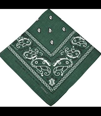 Hunter Green Bandana, Cotton