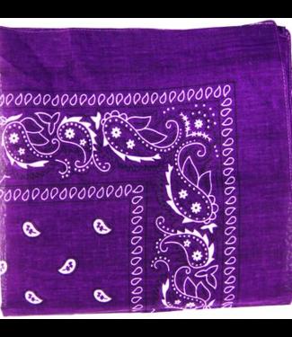 Purple Bandana, Cotton