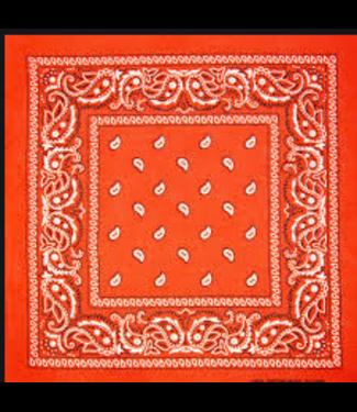 Orange Bandana, Cotton
