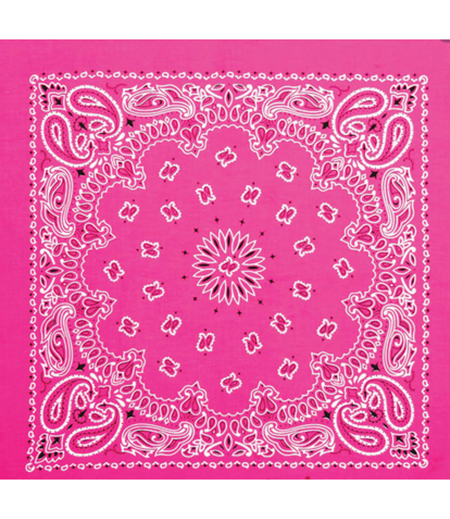 Pink Bandana, Cotton