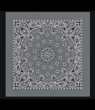 Gray Bandana, Cotton