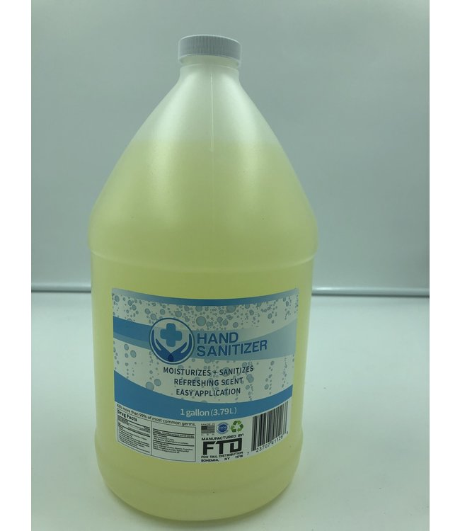 Fox Tail Disto Hand Sanitizer 1 Gallon by Fox Tail Distribution