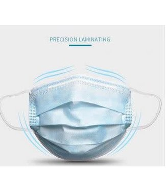 Face Mask Protection 3 Layer Disposable - 50 Box Mask- 18