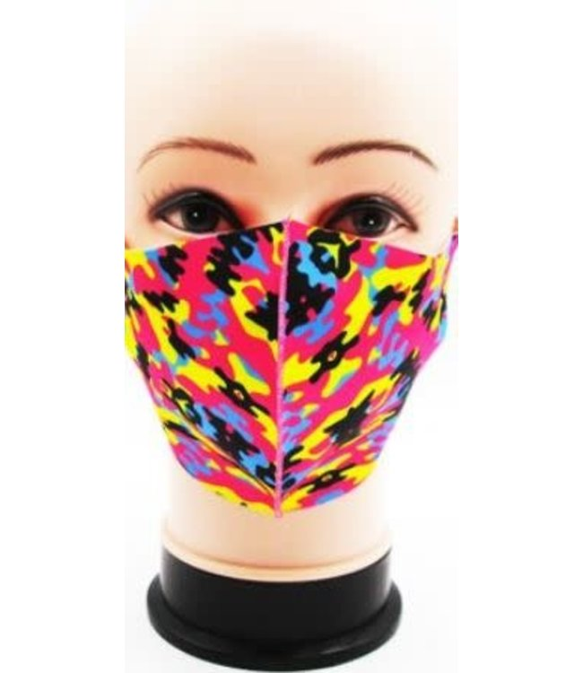 Face Mask Digital Camo, Assorted PINK Colors