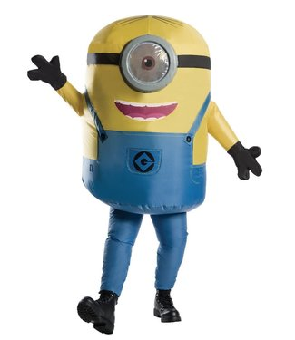 Rubies Costume Company Inflatable Adult Stuart Minion Costume - Adult Standard 44