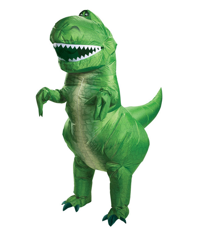 Disguise Inflatable Adult Rex Costume - Toy Story 4. Adult Standard by Disguise