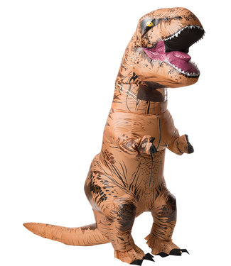 Rubies Costume Company Inflatable Adult T-Rex Costume w/Sound Jurrassic World- Adult Standard 44
