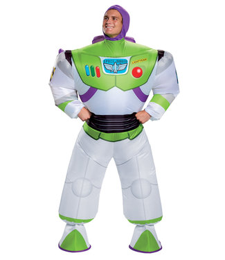 Disguise Inflatable Adult Buzz Lightyear Costume - Toy Story 4. Adult Standard by Disguise