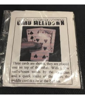 Card Meltdown M10