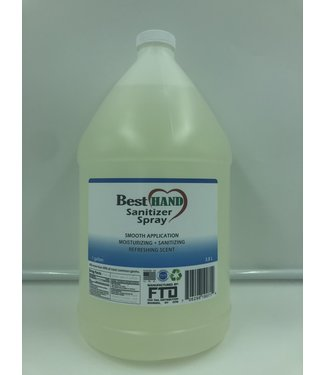 Hand and Surface Sanitizer Spray 1 Gallon by Best Hand Sanitizer