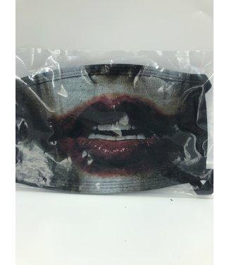 Face Mask Joker Black, Made In USA
