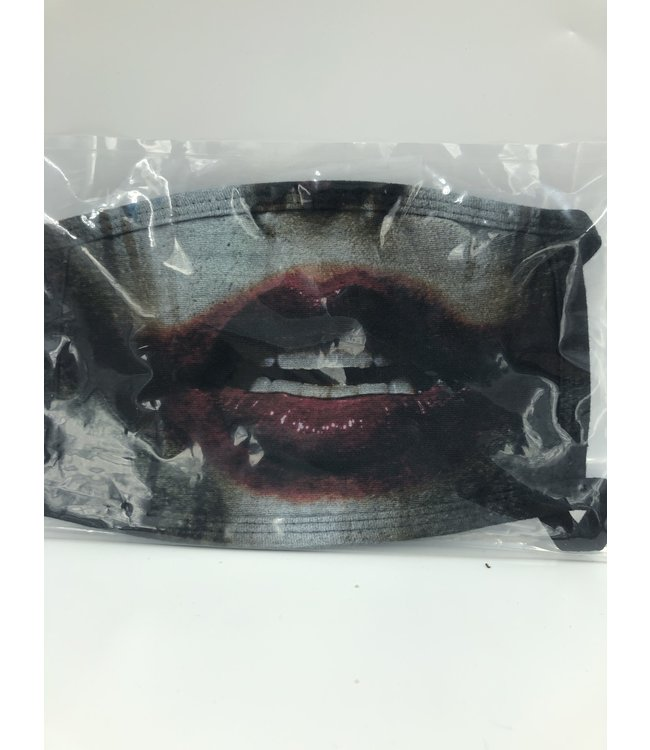 Face Mask Joker Black, Made In USA