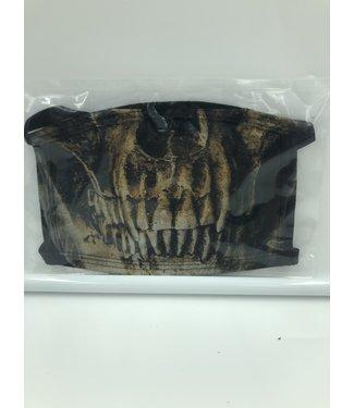 Face Mask Skeleton Black, Made In USA- 8