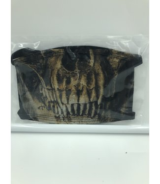 Face Mask Skeleton Black, Made In USA