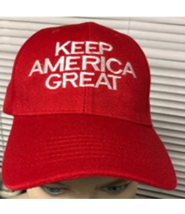 Keep America Great Red Cap
