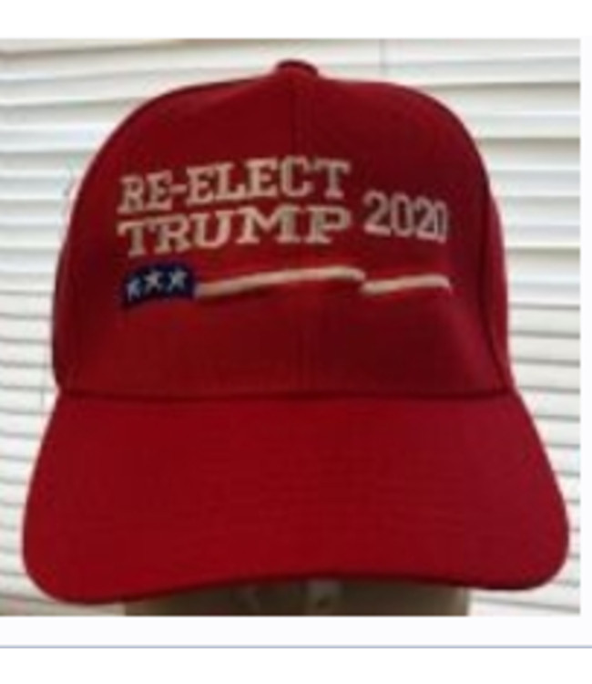 Re-Elect Trump 2020 Red Cap