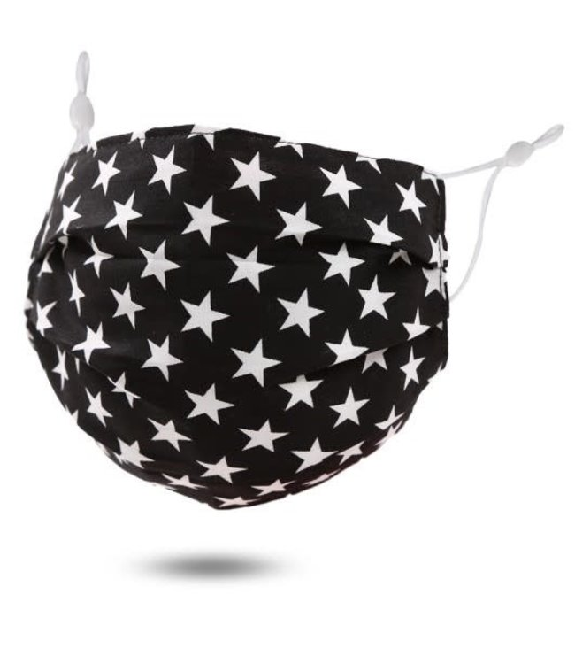 Face Mask Stars, Washable/Reusable SL