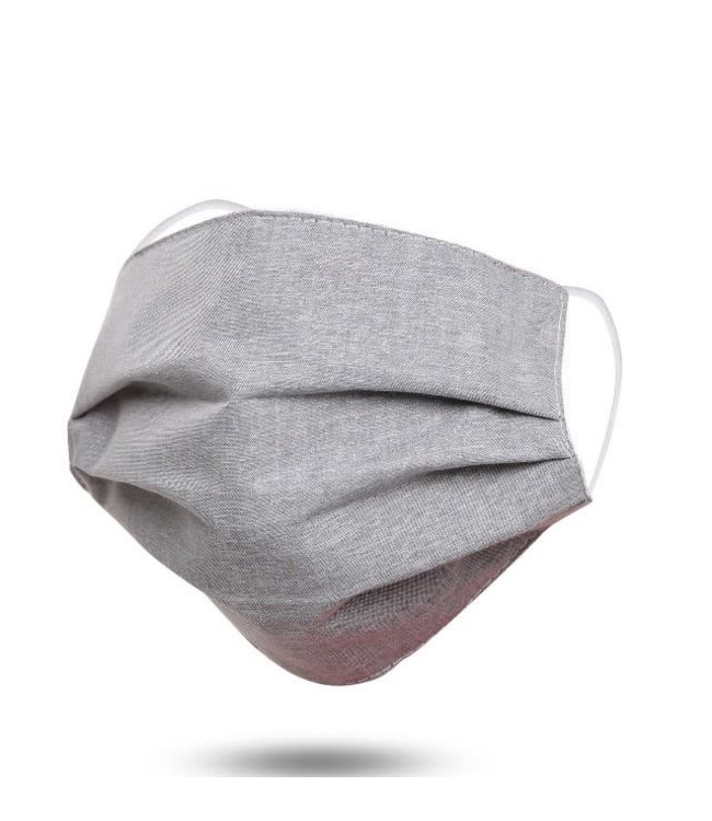 Face Mask Gray, Washable/Reusable SL