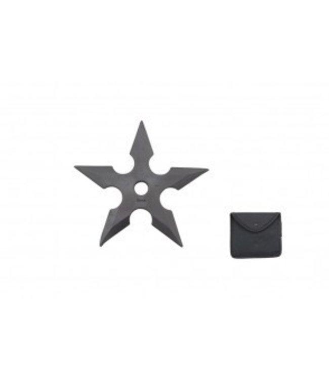 Training Throwing Star w/Sheath - Rubber 5 inch