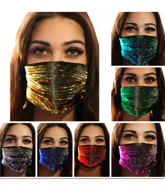 Face Mask Black PM2.5 with LED Light Modes