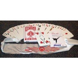 Ronjo Karate Cards, Jumbo Bic - Card (M8)