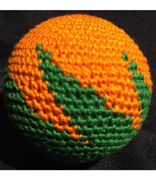 Ronjo Load Ball, 2 inch - Zig Zag, Cork Orange/Green (M8)