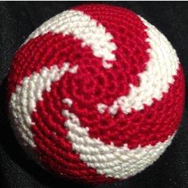 Ronjo Load Ball, 2 inch - Swirl, Cork Red/White (M8)