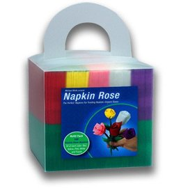 Napkin Rose Cube by Michael Mode from Big Lightbulb Inc.