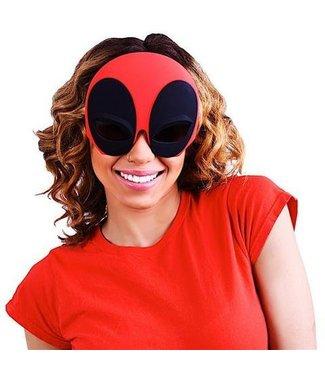 Sun-Staches Sunglasses Deadpool Sunstaches